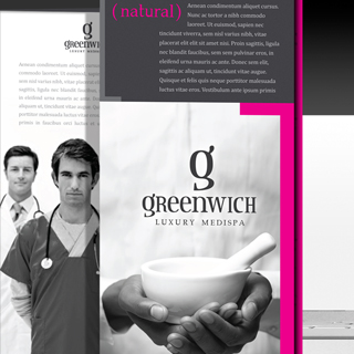 Greenwich Luxury Medical Spa Branding