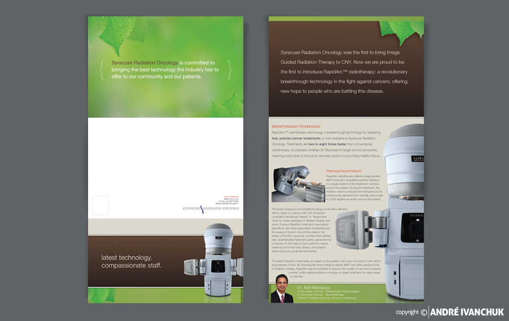 Associated Medical Professionals Brochure Design