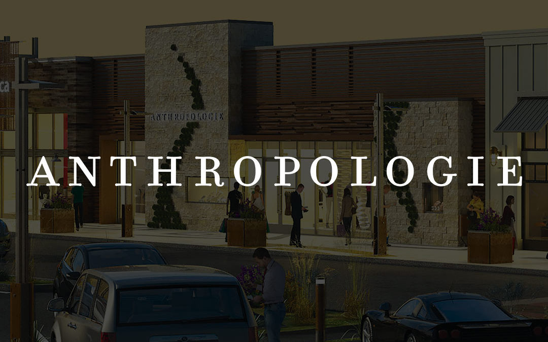 Anthropologie Storefront Design