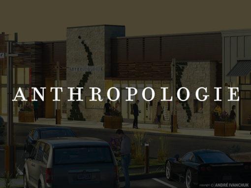 Anthropologie Storefront Design