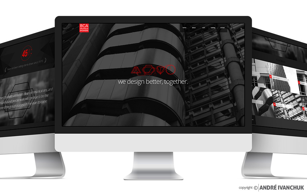 BCA Architects & Engineers Website Design
