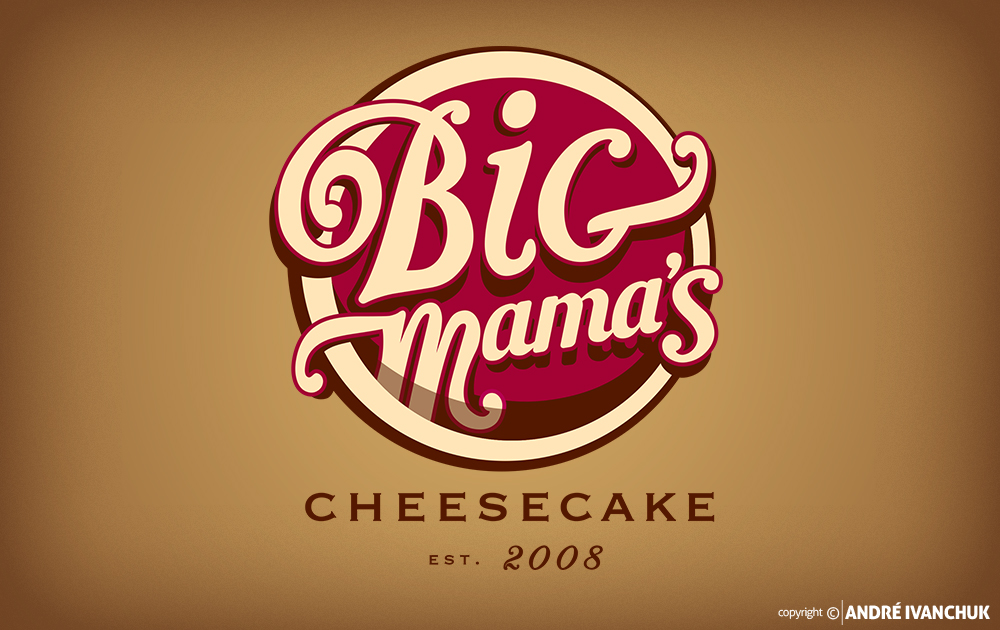 Big Mamas Cheesecake Branding