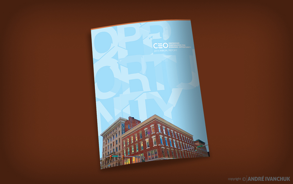 CenterState CEO 2014 Annual Report Design Cover
