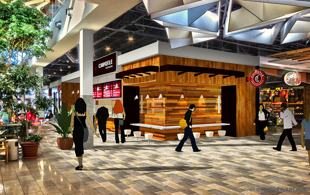 Chipotle-Restaurant-for-Enclosed-Mall-Concept-Design-3
