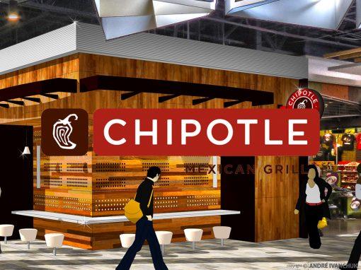 Chipotle for Enclosed Mall Concept Design