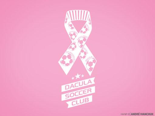 Dacula Soccer Club Breast Cancer Support Logo Design