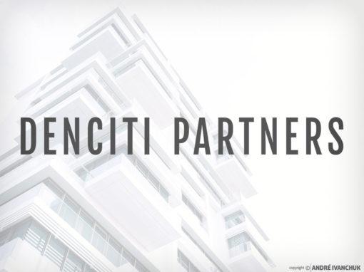Denciti Partners Logo Branding Design – Charlotte NC Real Estate Development
