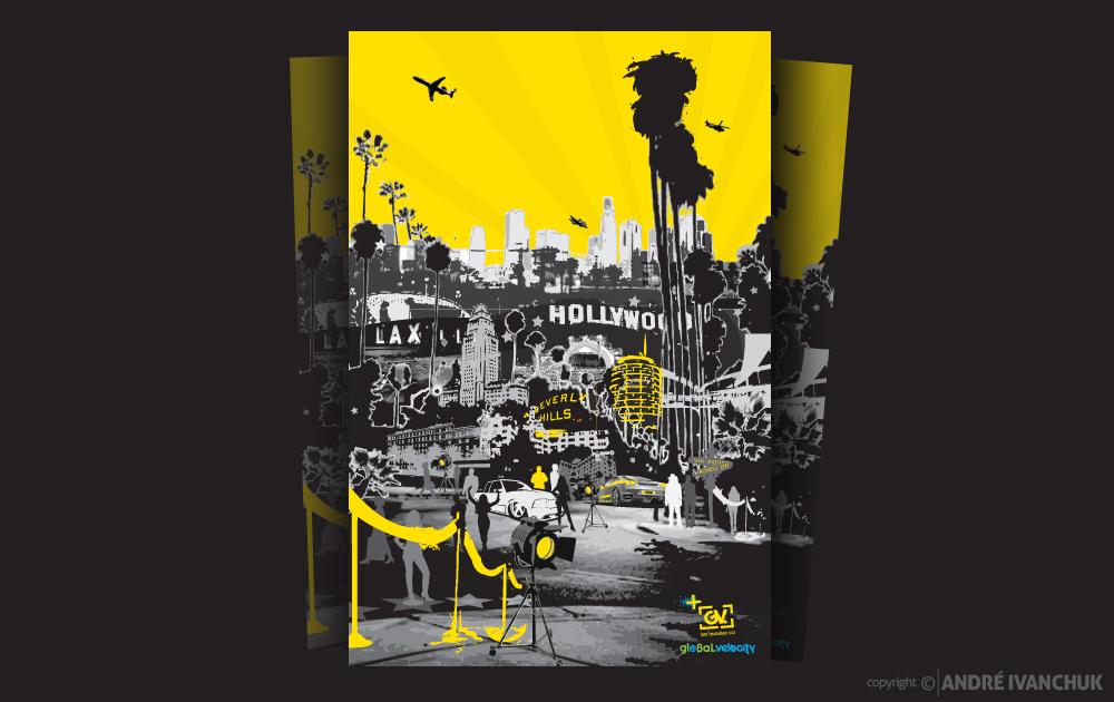 Global Velocity LA Trip Posters