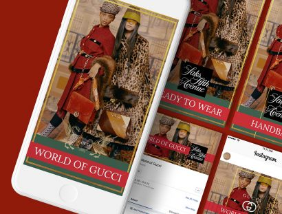 Gucci world of Gucci Fall 2019 social media marketing 01
