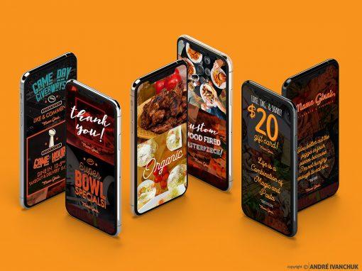 Mama Gina's Ristorante and Pizzeria Fulton New York Branding Marketing Design