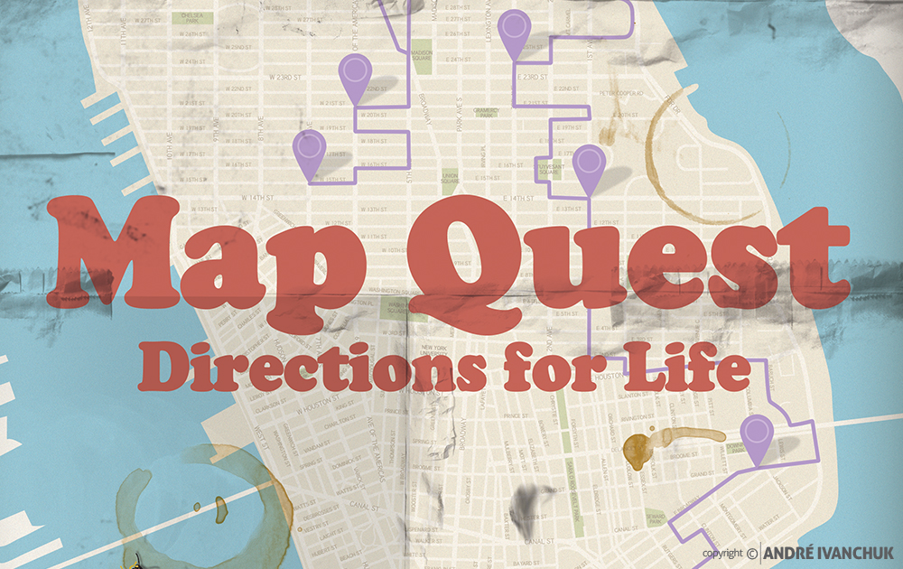 Mapquest Teaching Series Artwork