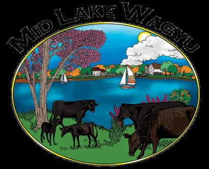 Mid Lake Wagyu Logo