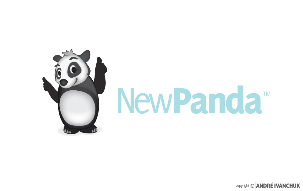 New Panda Marketing Logo Design