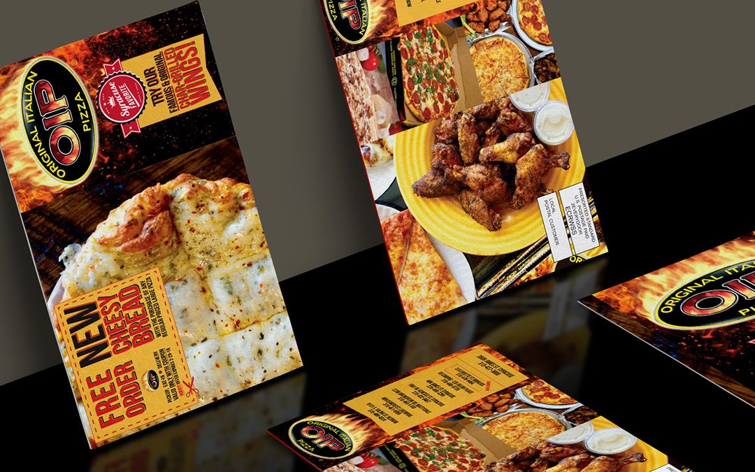 OIP Syracuse Restaurant EDDM Direct Mailer