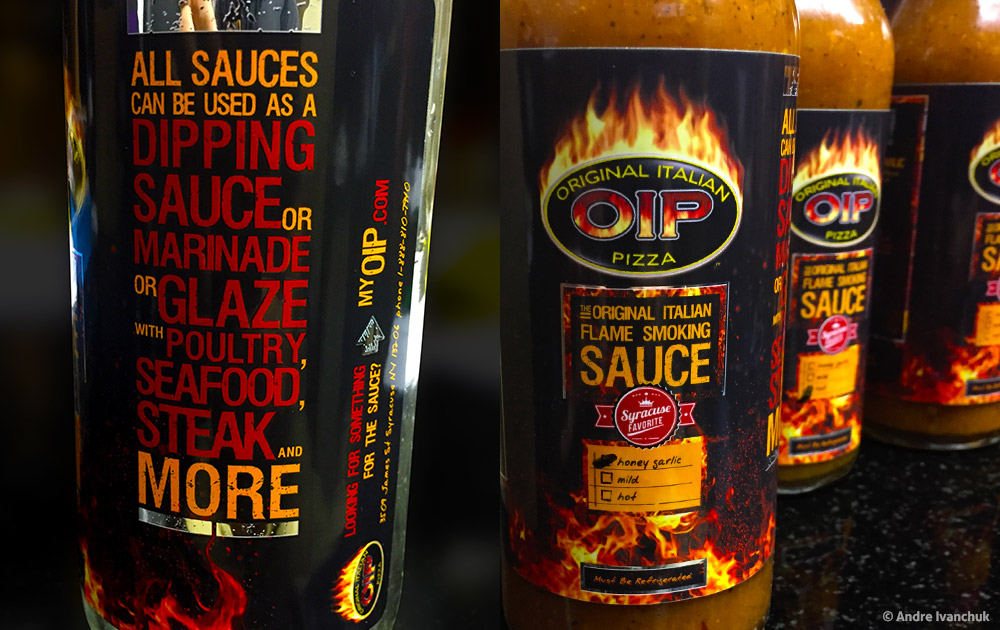 OIP Sauce Packaging Design