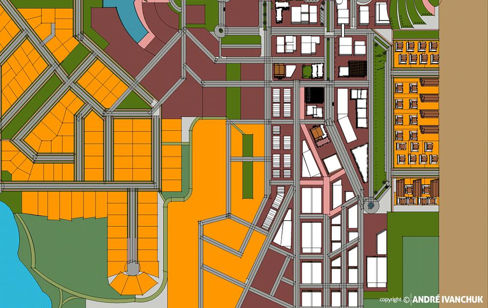 Palm Gardens Development Transect Site Plan Sketch Block Planning 3