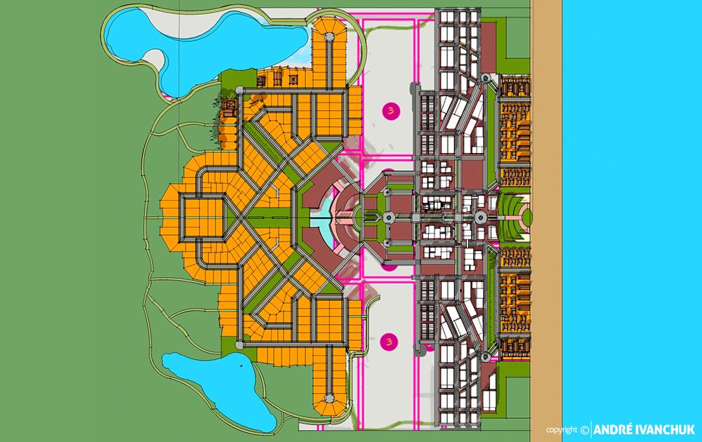 Palm Gardens Development Transect Site Plan Sketch Block Planning 4