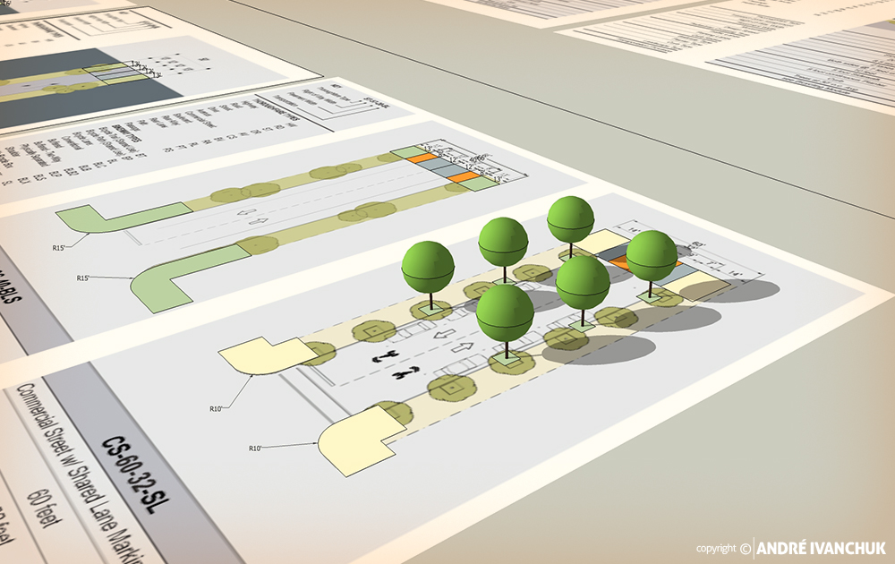 Palm Gardens Development Transects Streets 2