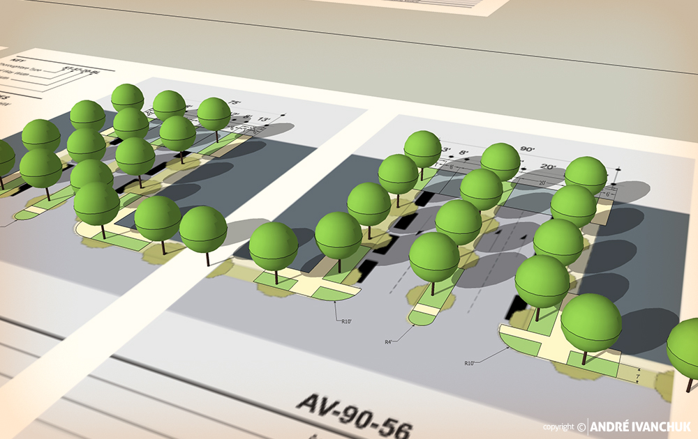 Palm Gardens Development Transects Streets