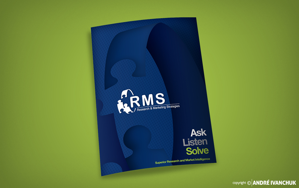 Research Marketing Strategies RMS Presentation Folder Design