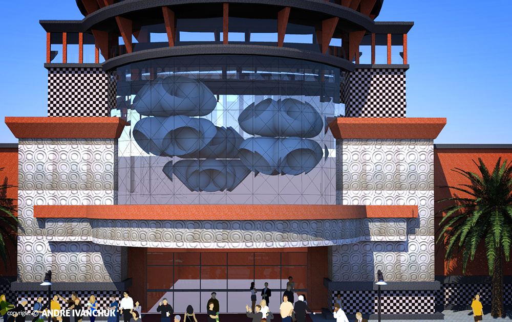 Shops-At-Beachside---Storefront-Entrance-Design-Glass-Detail
