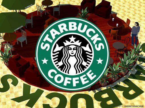 Starbucks Common Area Seating Design