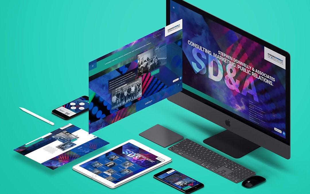 Stephen Donnelly & Associates Website Design & Video