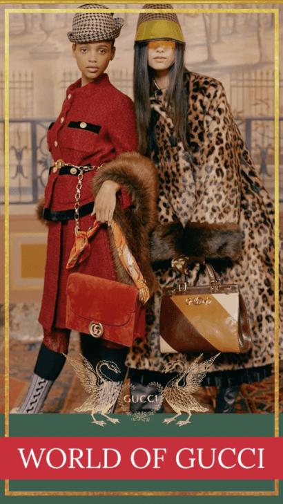 World Of Gucci Fall 2019 Social Media Marketing 33