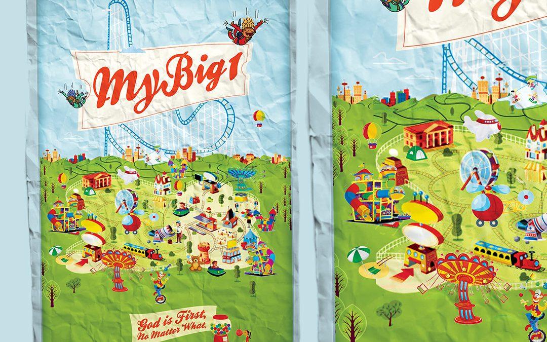My Big One Dream Teaching Ministry Presentation Design and Illustration