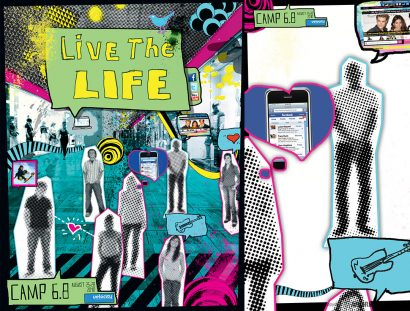 Live The Life Ministry Church Youth Teaching Series Design
