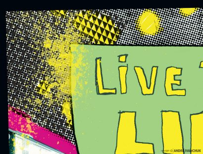 Live The Life Ministry Church Youth Teaching Series Design Marketing