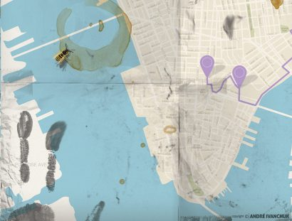 Mapquest Teaching Series Artwork for Youth Ministry Design NYC 3