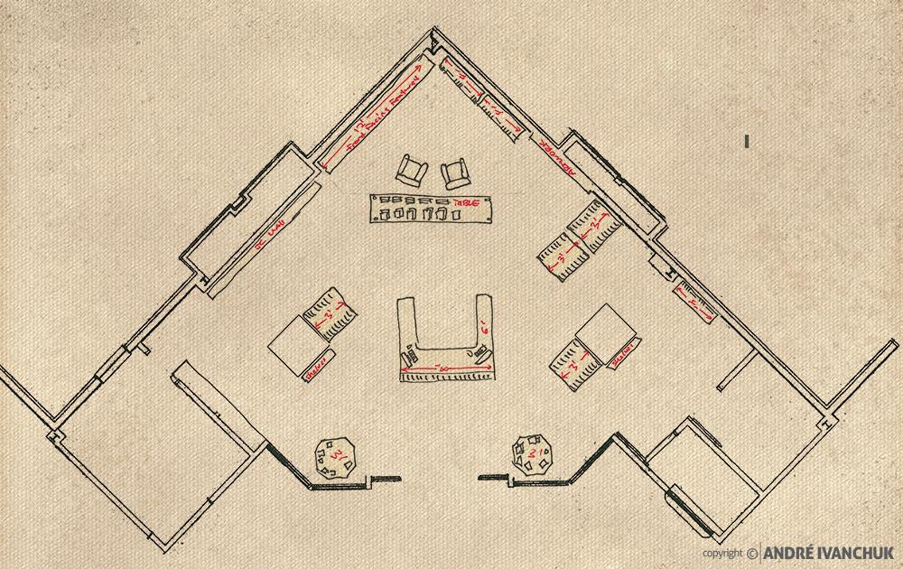 alcc retail space planning sketch floorplan furniture plan 2
