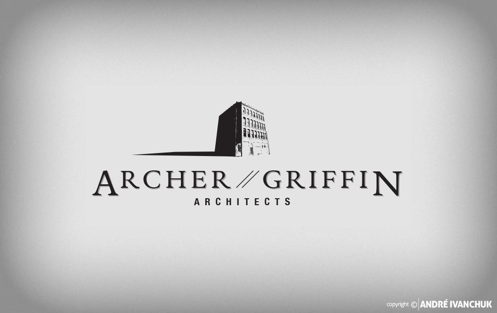 Archer Griffin Architects Logo Design