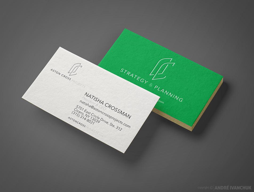 aston-cross-logo-branding-business-card-design