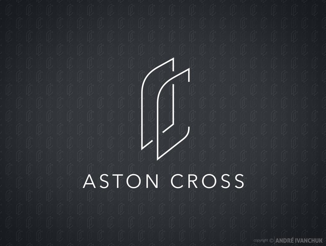 aston-cross-logo-branding-logo-design-pattern