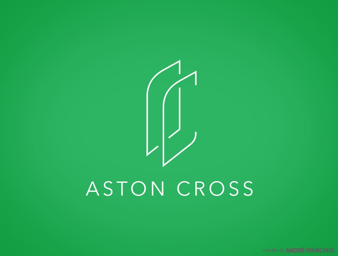 aston-cross-logo-branding-logo-design