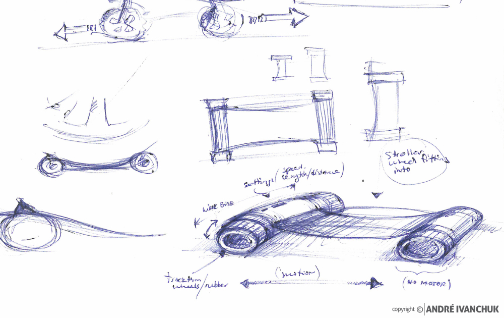Automatic Stroller Attachment Concept