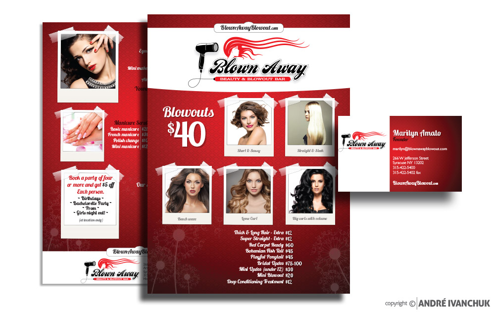 Blown Away Beauty & Blowout Bar Marketing