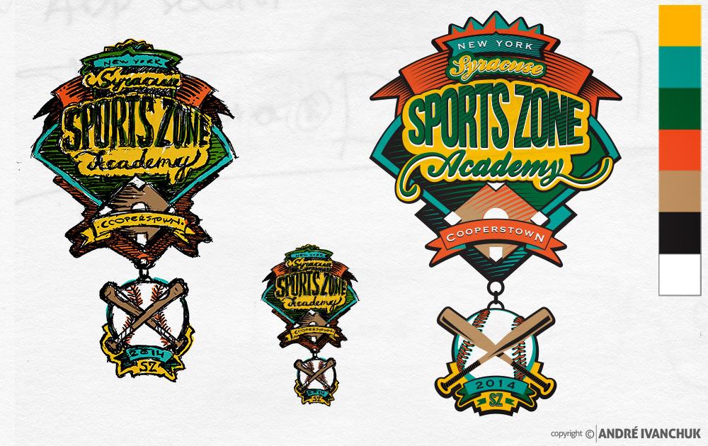 cooperstown-custom-design-trading-baseball-pin-sketch-illustration