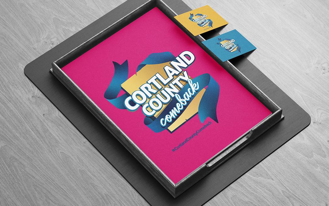 Cortland County Comeback Logo Design