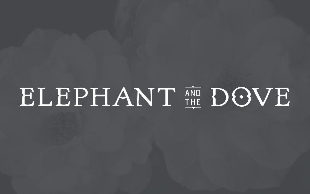 Elephant and The Dove Restaurant Logo Design