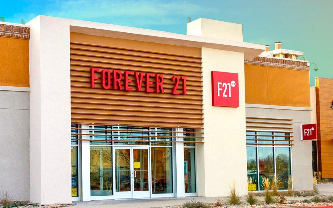 Forever21 Storefront Design RED Concept