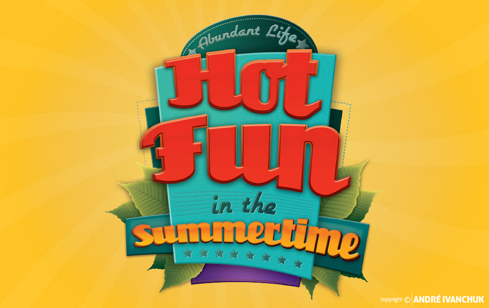 hot fun in the summer logo & marketing