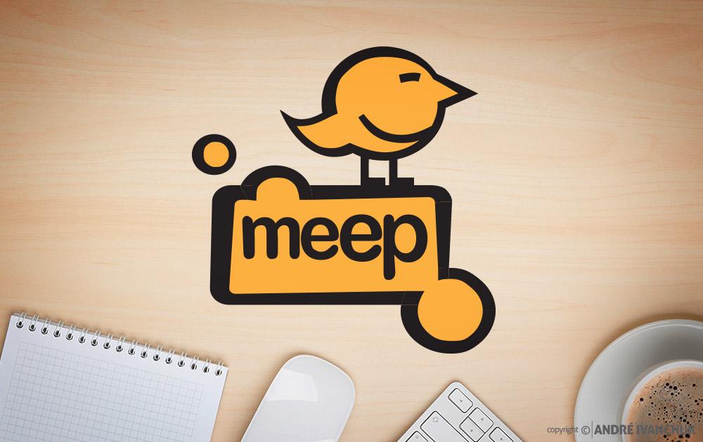 Meep Logo Design