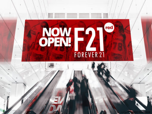 Forever21 Red Grand Opening Store Marketing