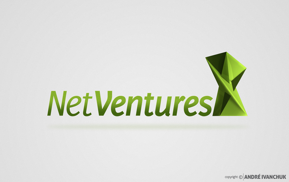 Net Ventures Logo Design