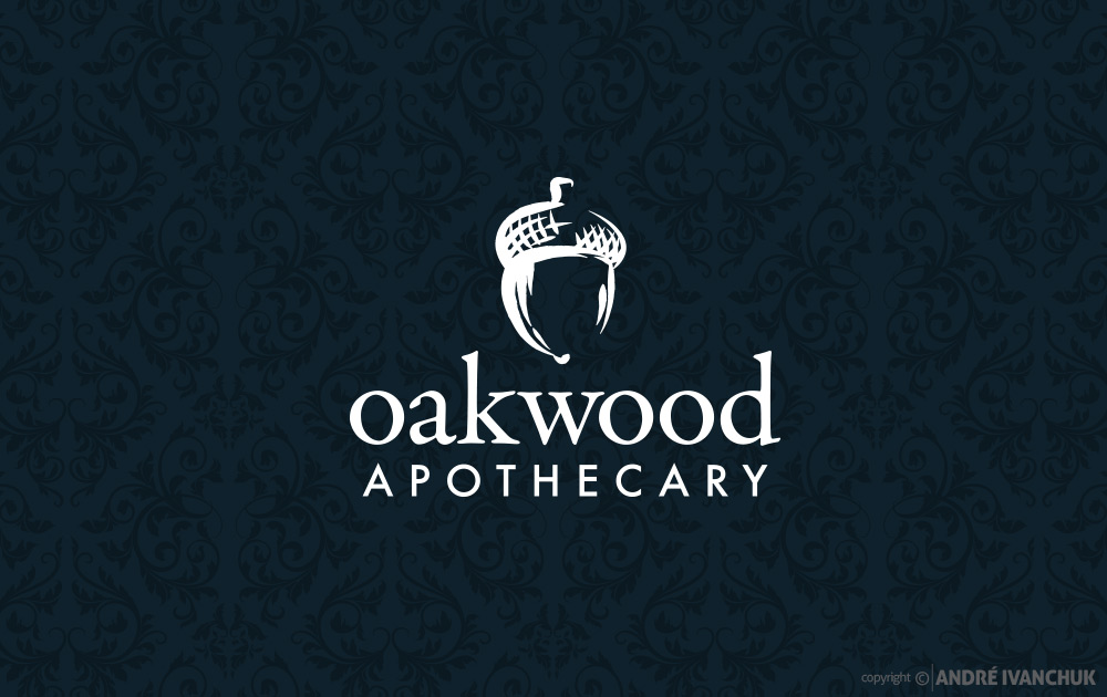 oakwood-apothecary-logo-design-2