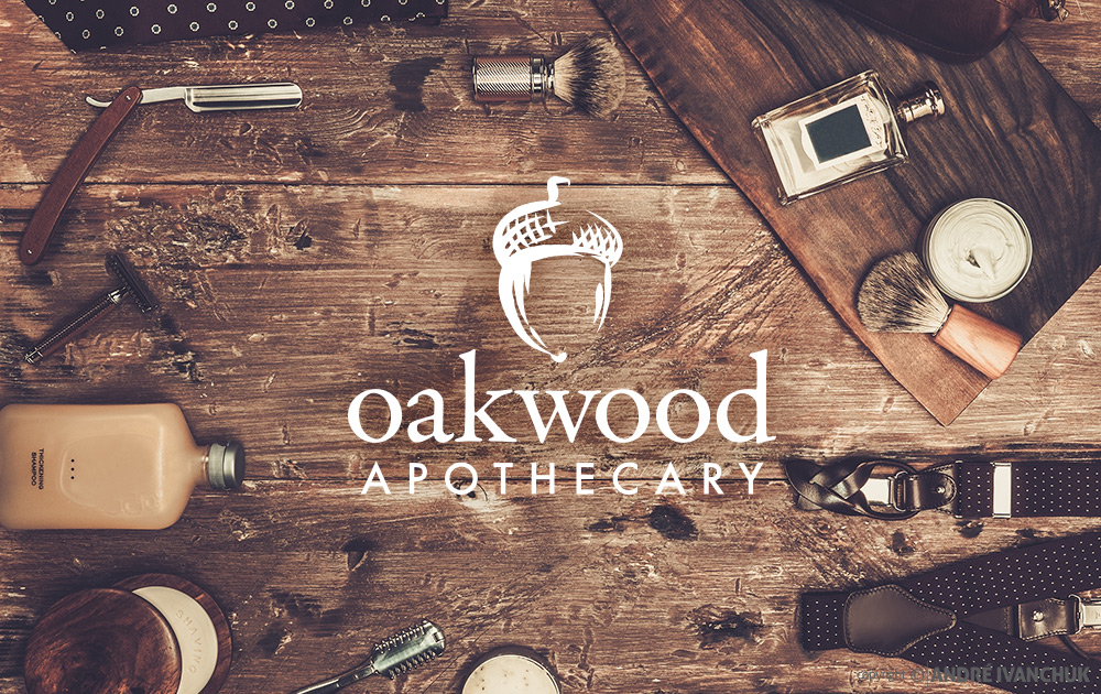 oakwood-apothecary-logo-design