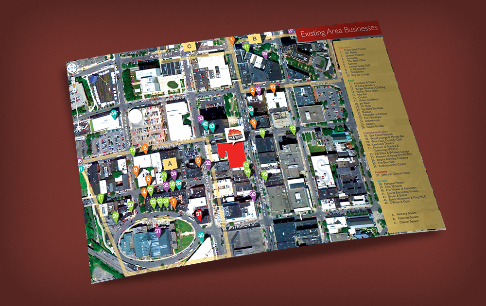 pike block syracuse marketing book map